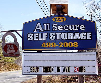 Bon All Secure Self Storage   Storage Units In Lyman, Maine